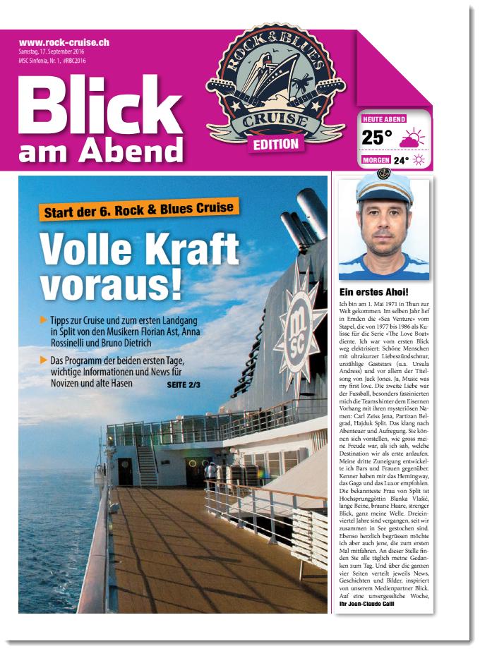 1. Ausgabe RBC Bordzeitung