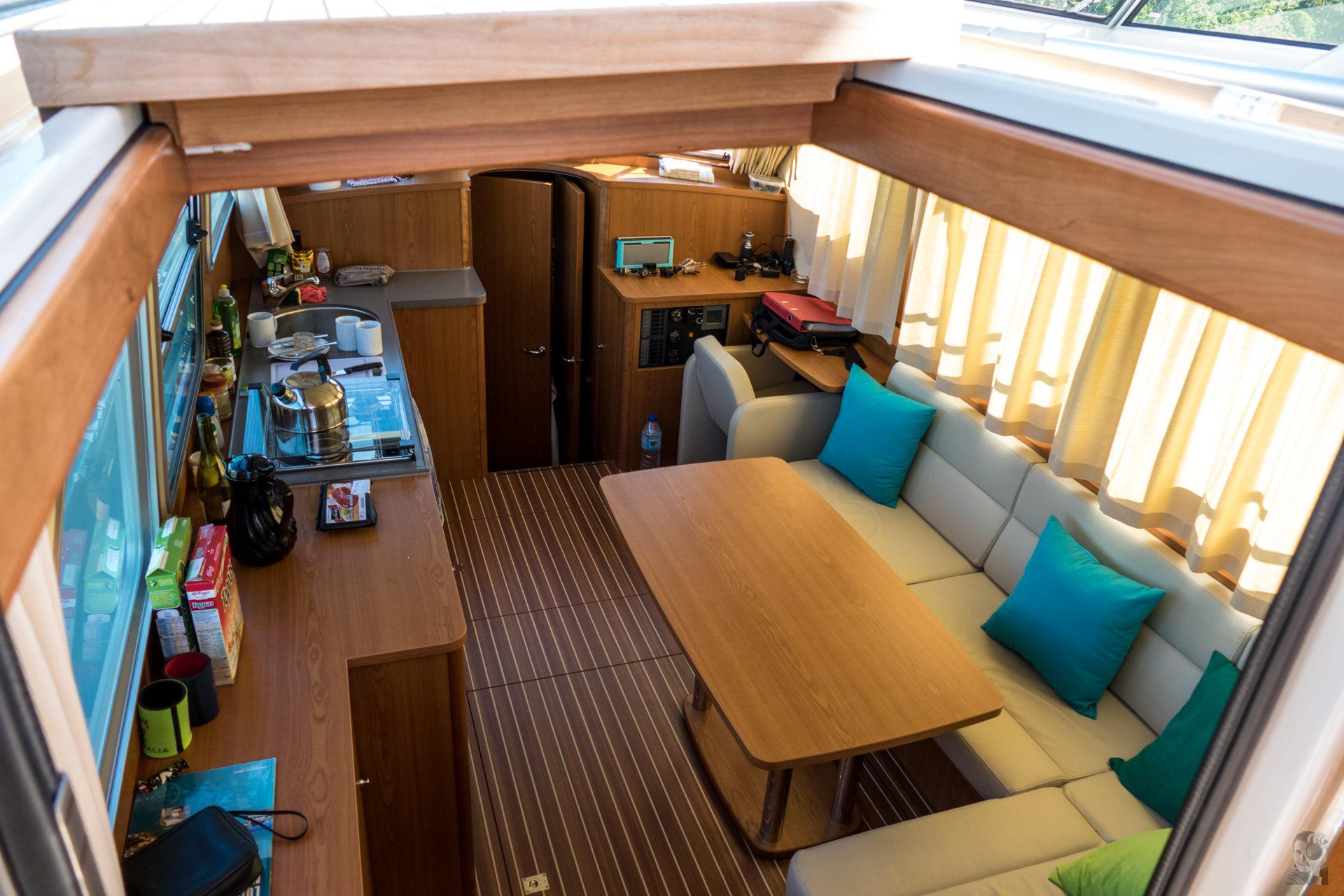 Hausbootferien 2015, Briare-LINSSEN Grand Sturdy 34.9, Kabine