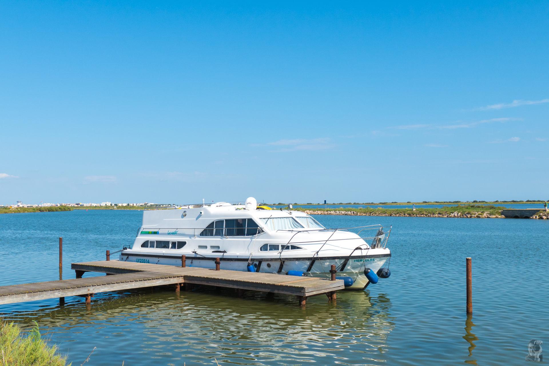 Hausbootferien 2015, Lattes-Europa 600 bei Maguelone