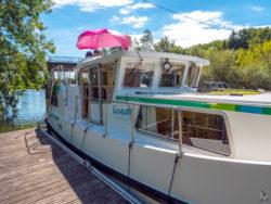Hausbootferien 2017, St-Léger-sur-Dheune - Louhans