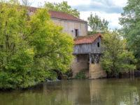 """Hausbootferien 2017, St-Léger-sur-Dheune - Louhans-Alte Mühle bei """"Branages"""""""