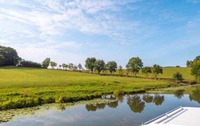Hausbootferien 2017, St-Léger-sur-Dheune - Louhans-Auf der
