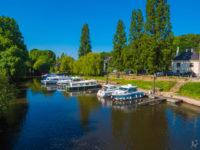 Der Hafen von La Gacilly-