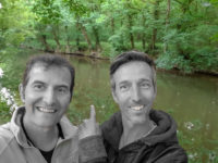 auf diesem Fluss fuhren wir-l'Aff zwischen La Gacilly und Glénac
