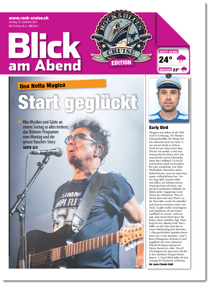 2. Ausgabe RBC Bordzeitung
