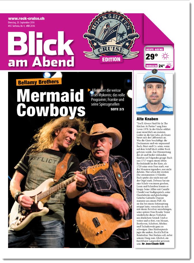 4. Ausgabe RBC Bordzeitung