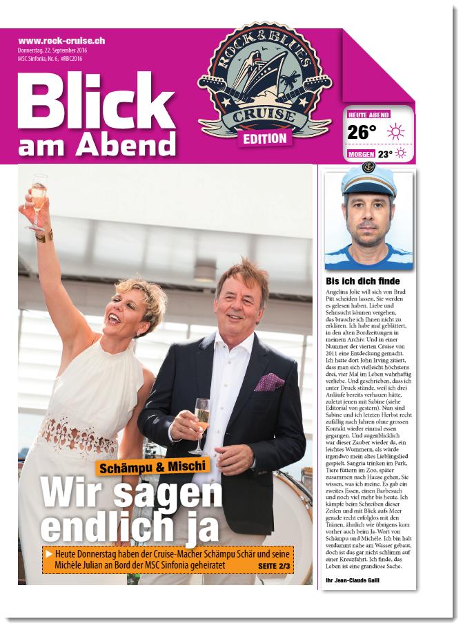 5. Ausgabe RBC Bordzeitung