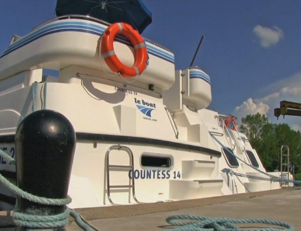 Hausbootferien Tannay 2012