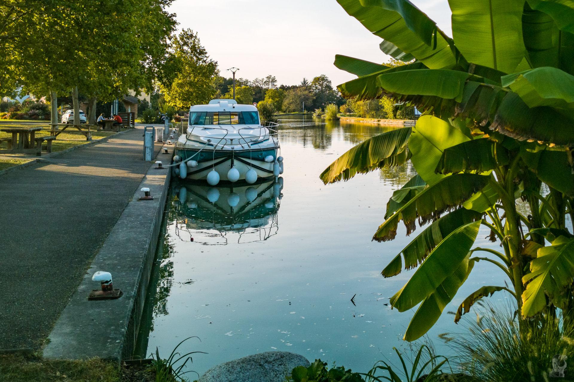Hafen in Souffelweyersheim-Canal de la Marne au Rhin