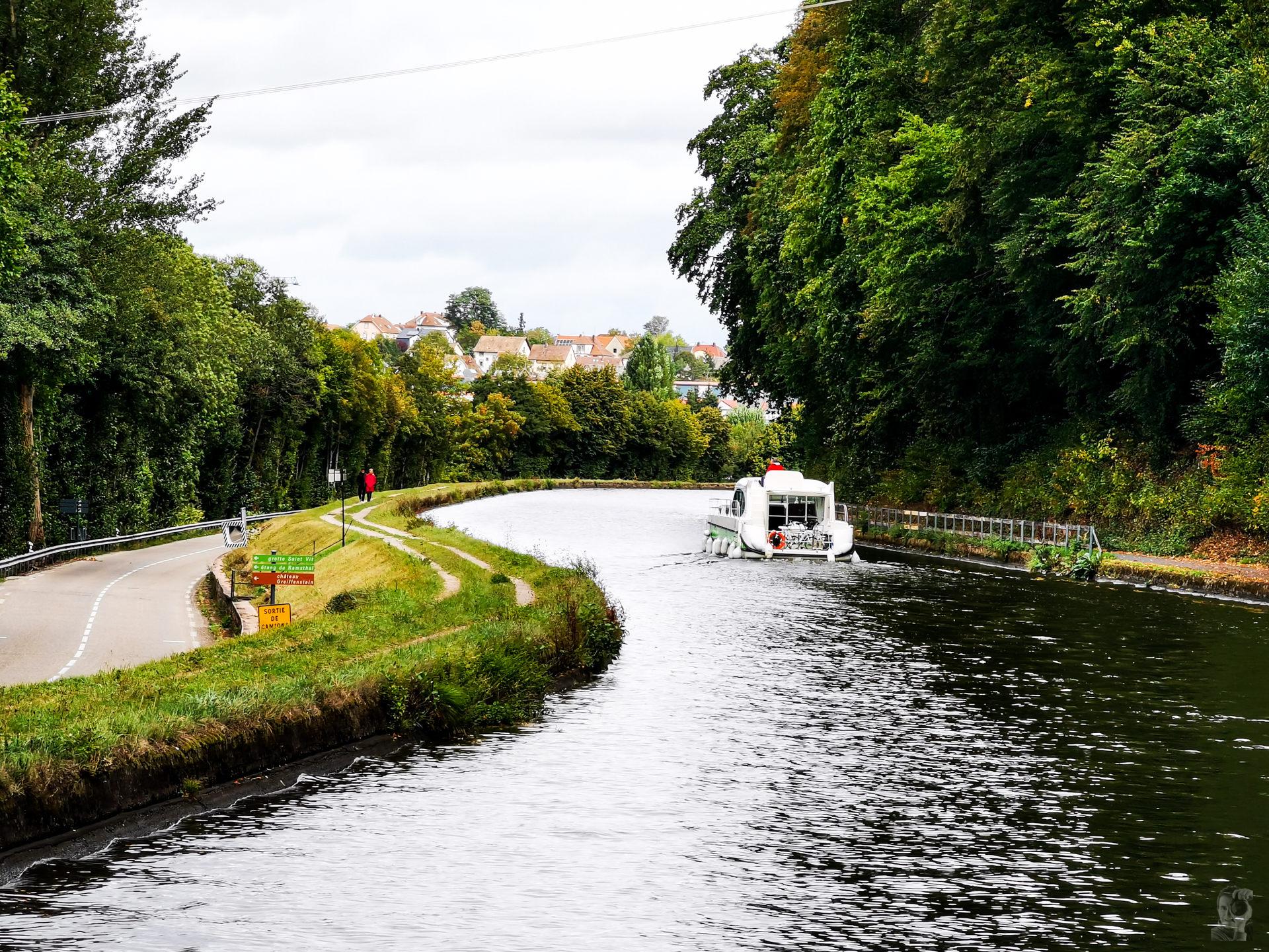 Anfahrt nach Saverne-Canal de la Marne au Rhin