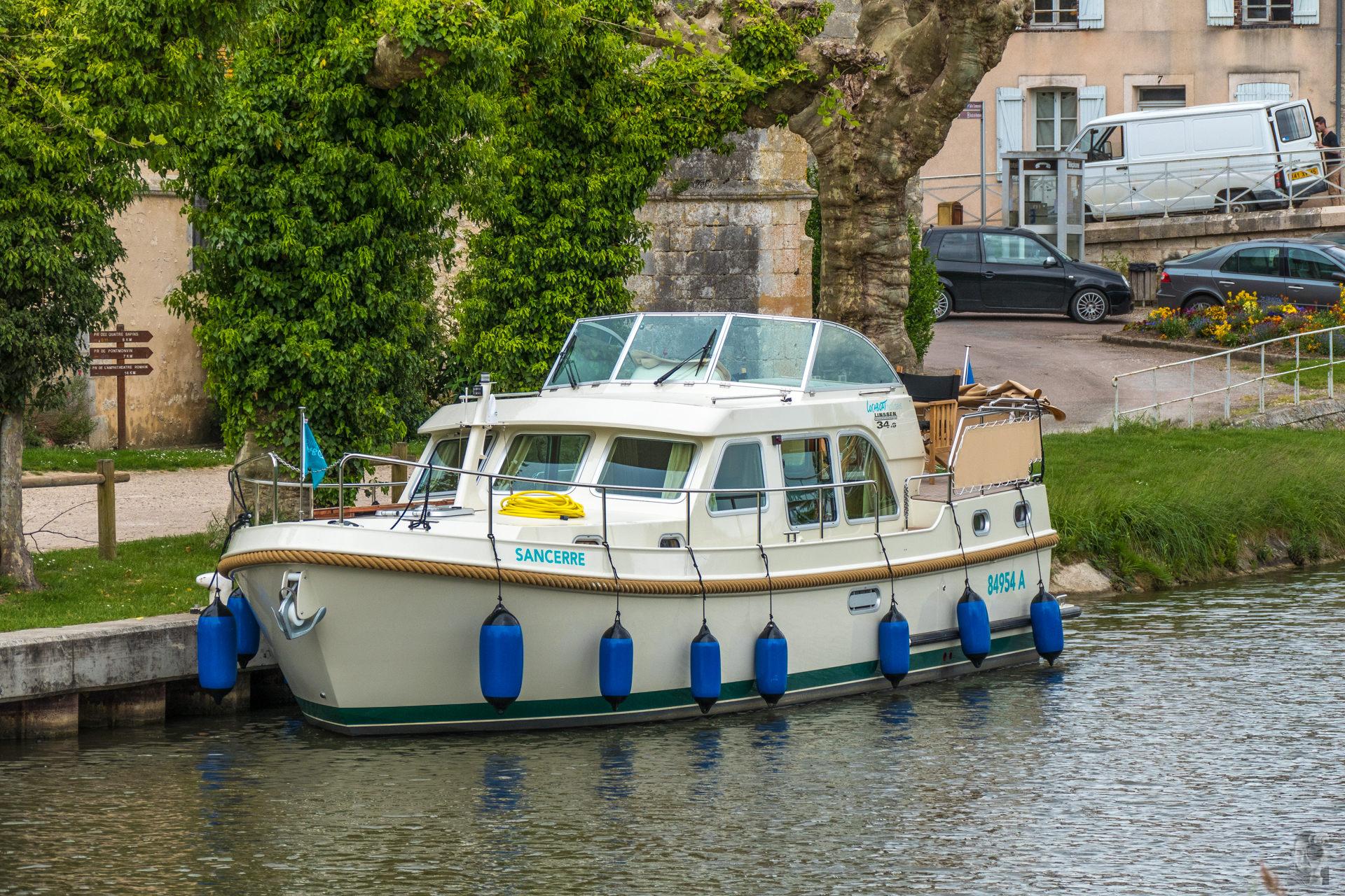 Hausbootferien 2015, Briare-LINSSEN Grand Sturdy 34.9