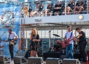 Anna Rossinelli und Band