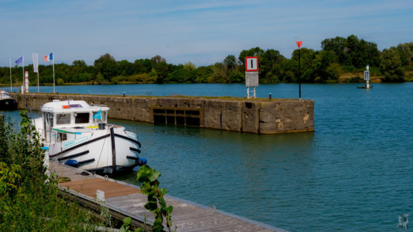 Hausbootferien 2017, St-Léger-sur-Dheune - Louhans-Ehemalige Schleuse bei Gigny-sur-Saône