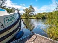 """Hausbootferien 2017, St-Léger-sur-Dheune - Louhans-die Santenay auf der """"La Seille"""""""
