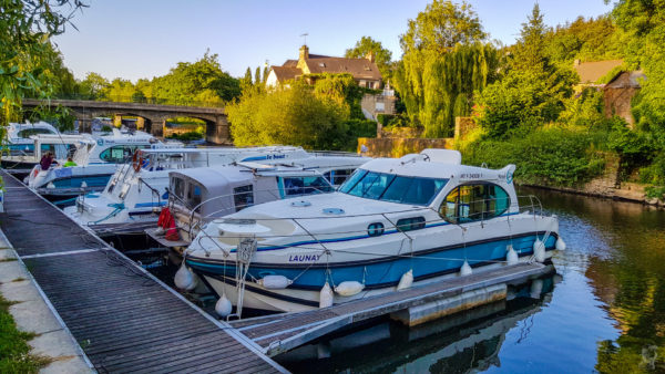 "Hafen in La Gacilly-die ""Launay"""