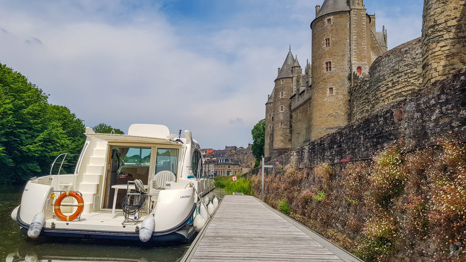 Anleger in Josselin-