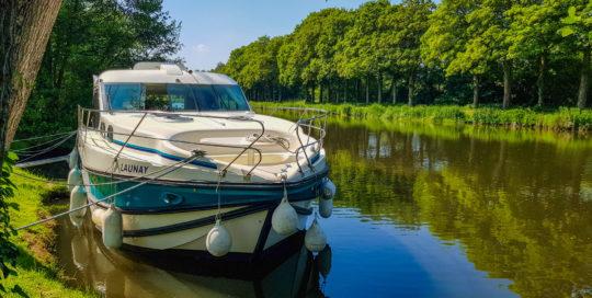 Le Rouvray-Wendepunkt unserer Hausbootreise