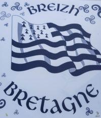 Hausbooturlaub 2018-Glénac/Bretagne-Wappe der Bretagne/Breizh