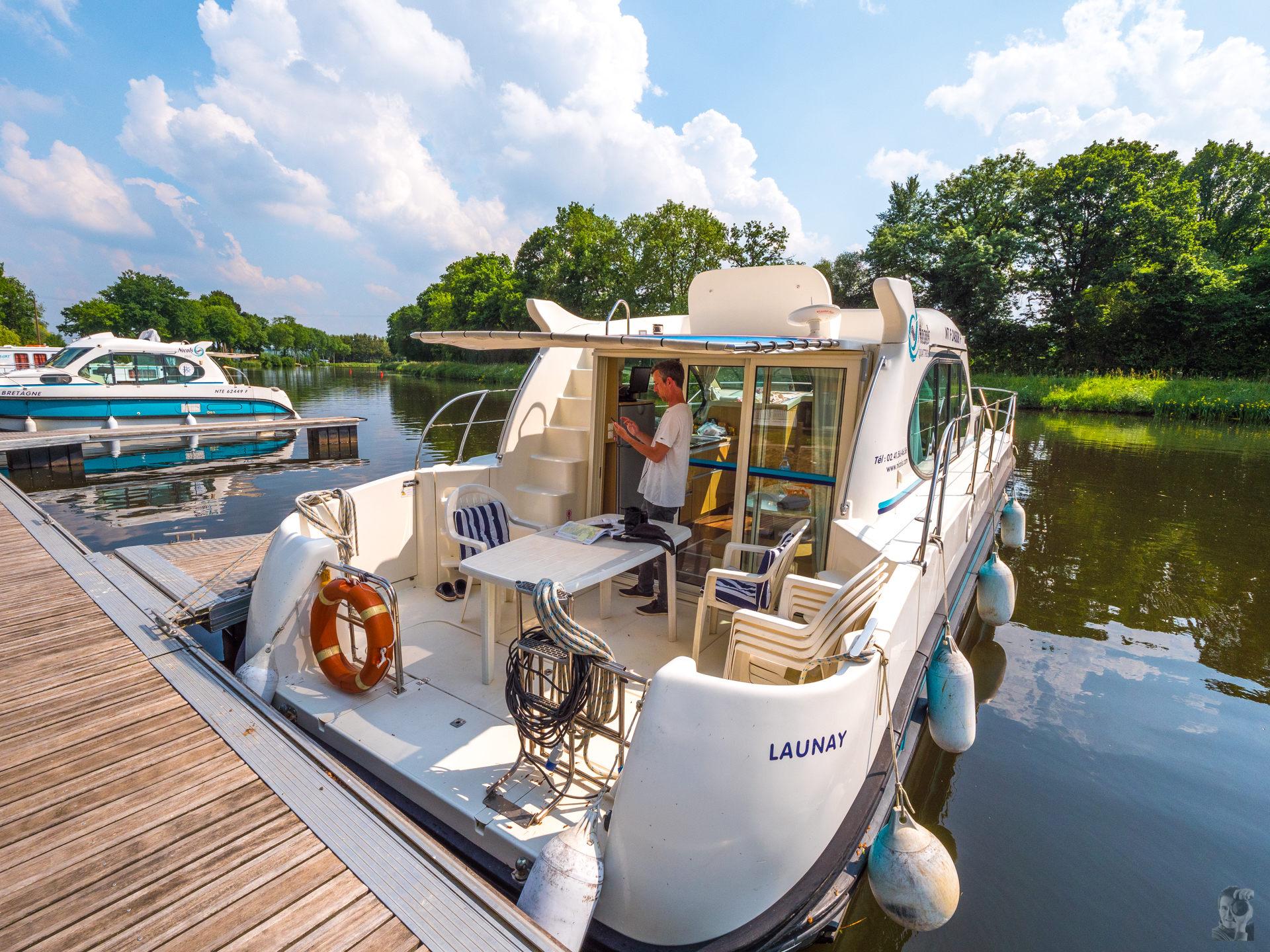 Hausbooturlaub 2018-Glénac/Bretagne-Locaboat Basis in St-Martin-sur-Oust