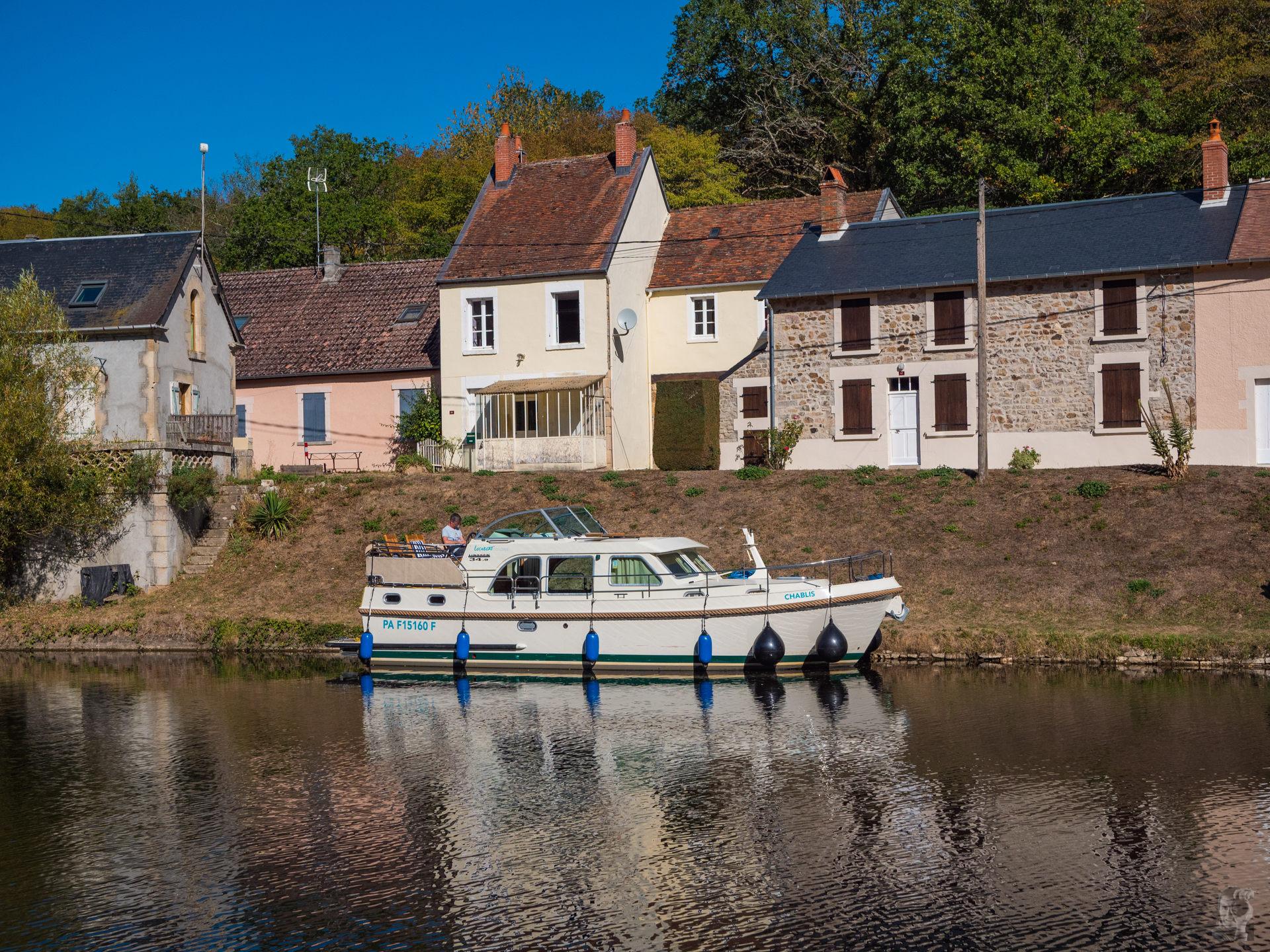 Hausbooturlaub 2019 Corbigny-Port Brûle, Canal du Nivernais